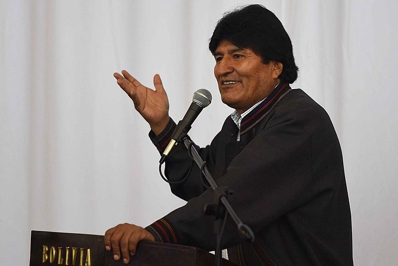 Atual presidente da Bolívia Evo Morales concorre a reeleição este ano.