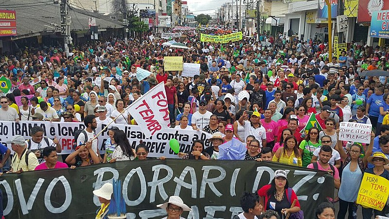 Mobilização em Santarém (PA)