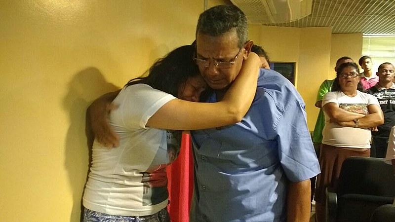Claudelice Santos, irmã do extrativista José Cláudio Ribeiro, emociona-se ao saber da condenação de José Rodrigues Moreira