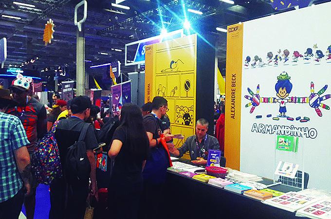"""Lançamento de """"Armandinho Dez"""" na CCXP, o maior evento de quadrinhos do Brasil"""