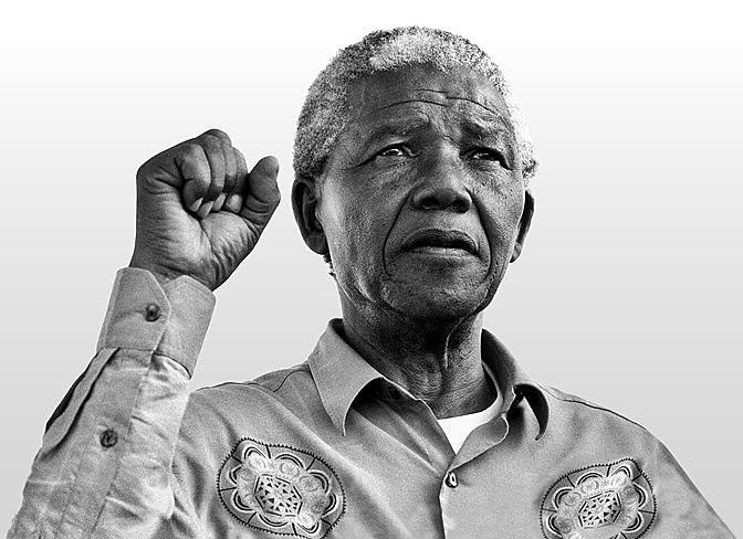 Símbolo de luta do povo negro, Mandela resistiu a 27 anos de prisão