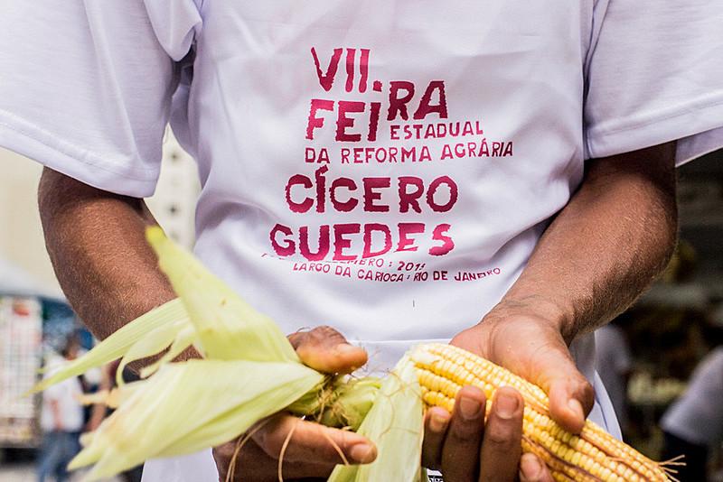 Feira Estadual da Reforma Agrária Cícero Guedes prioriza conservação ambiental e do solo na produção de alimentos saudáveis