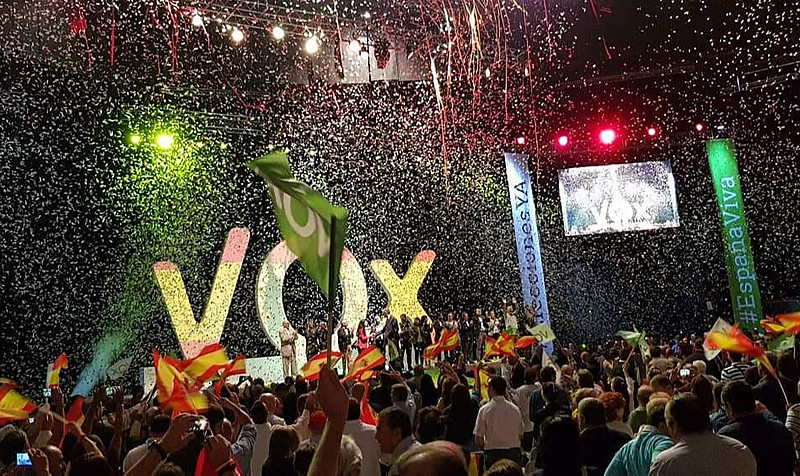 Partido de extrema-direita Vox conquistou 11% dos votos