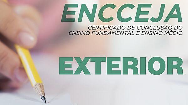 O Encceja Exterior é um programa que traz oportunidades para quem mora fora do Brasil, de conseguir certificação de ensino para quem precisa