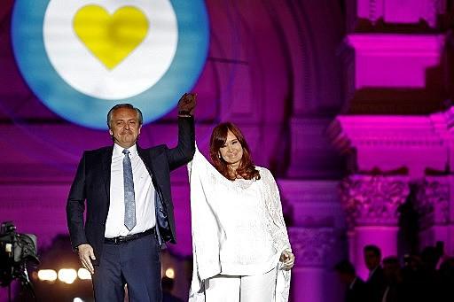 Alberto Fernández e Cristina Kirchner contaram com amplo apoio de movimentos sociais, sindicatos, e das principais agremiações do peronismo