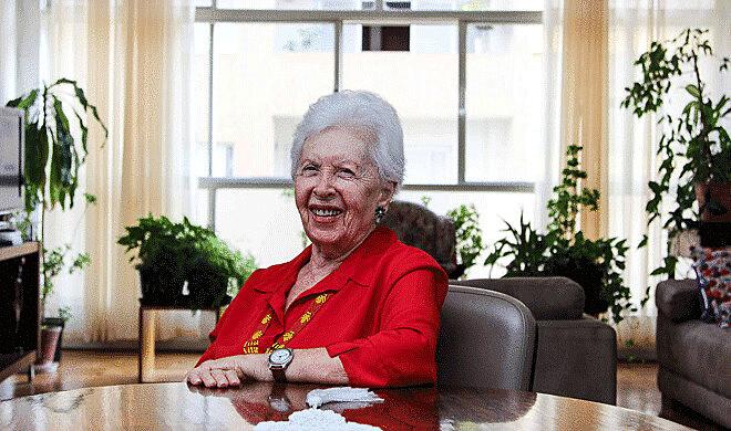 Clara Charf militou no PCB e no PT e foi companheira do guerrilheiro Carlos Marighella
