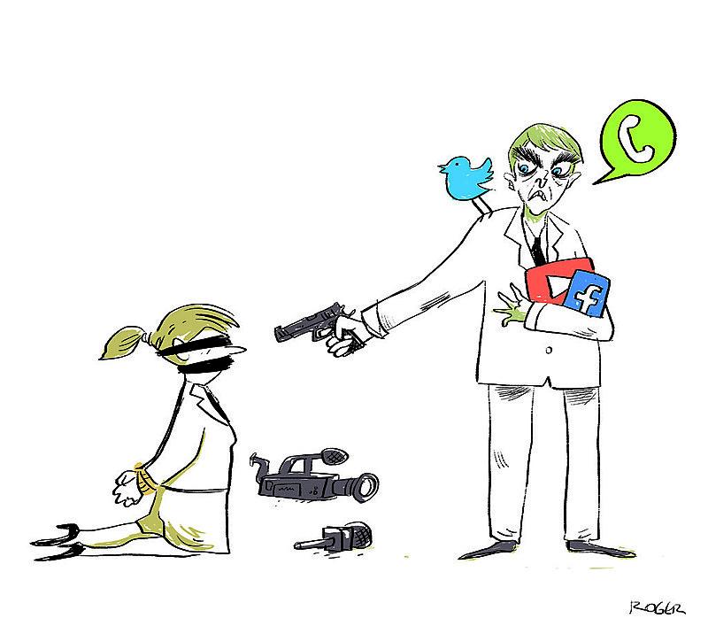 Desde a sua posse, Bolsonaro tem travado uma guerra de palavras e ações contra os profissionais e as empresas de jornalismo