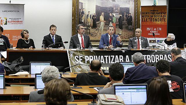 Frente Parlamentar Mista em Defesa da Eletronorte foi lançada na Câmara dos Deputados com assinaturas de mais de 200 parlamentares
