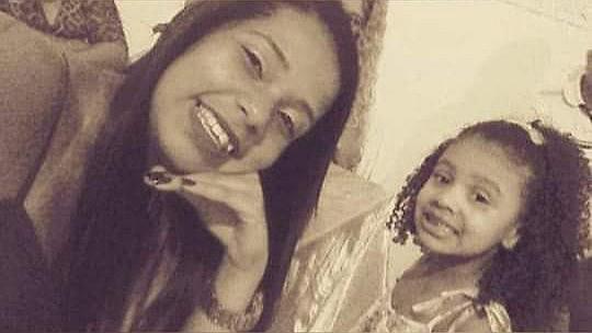 Daniele e a sobrinha Ágatha, que morreu na última sexta-feira (20), ao ser baleada por um tiro de fuzil, no Complexo Alemão, no Rio