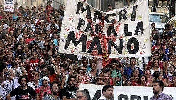 Movimentos populares se mobilizam contra as medidas econômicas de Macri
