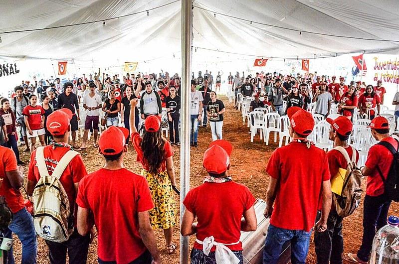 A rebeldia organizada da juventude do MST está em Goiás