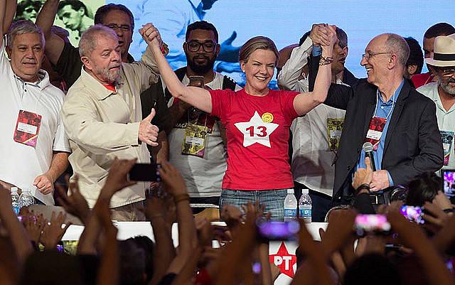 La candidata de la corriente mayoritaria Construyendo un Nuevo Brasil (CNB) tuvo 367 votos, 69% del total