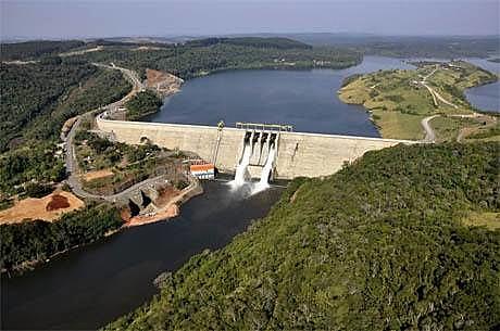 Usina de São Manoel está localizada no Rio Teles Pires, entre os estados de Mato Grosso e Pará