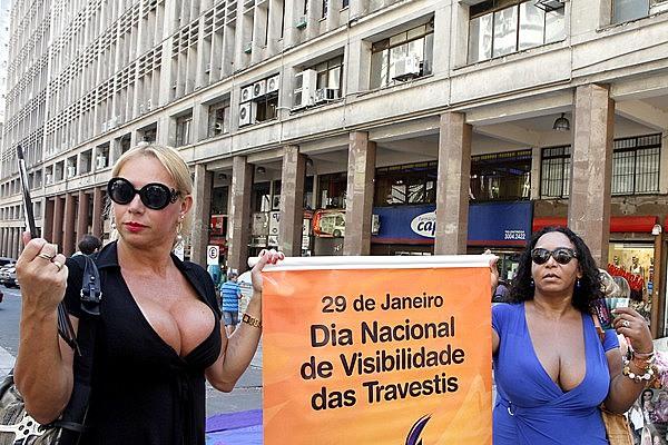 O Brasil está entre os países que mais matam pessoas transgêneros no mundo