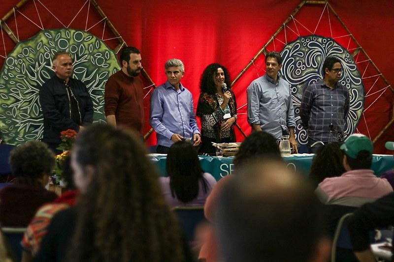 Em ato público com a presença de políticos progressistas, foi lançada carta construída por mais de 50 organizações
