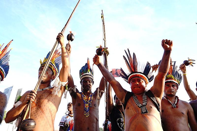 Lideranças indígenas pediram que direitos constitucionais sejam mantidos pelo governo federal