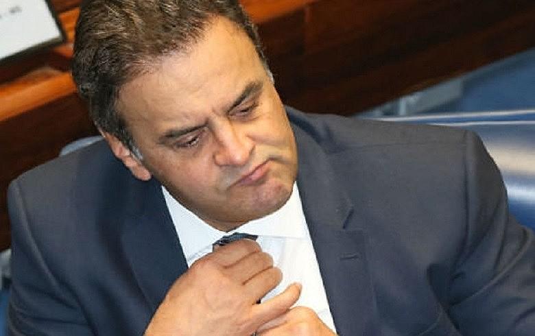Aécio foi denunciado por corrupção passiva e obstrução de Justiça, com base nas delações premiadas da J&F