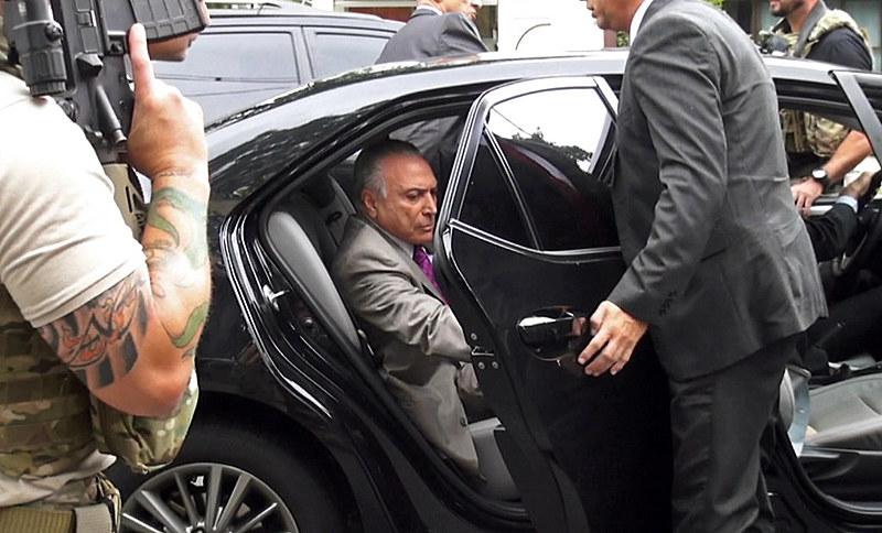Ex-presidente Temer foi preso nesta quinta-feira (21) em força-tarefa da Operação Lava Jato