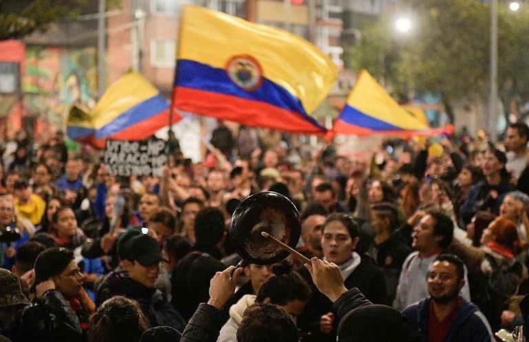 A pauta de reivindicações escancara o rechaço dos colombianos às políticas sociais e econômicas do presidente Iván Duque