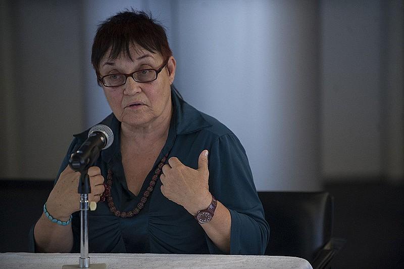 """Maria Amélia de Almeida Teles, conhecida como """"Amelinha"""", fez parte do jornal desde seu número 0"""