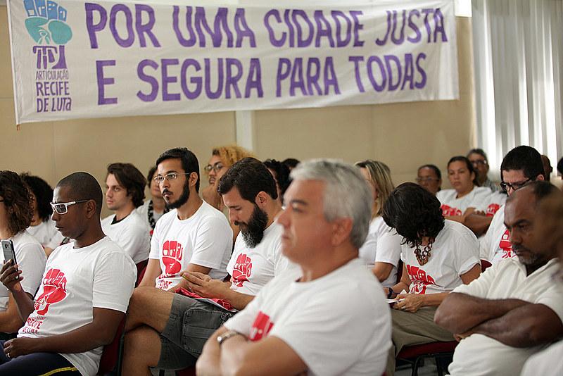 A articulação Recife de Luta aglutina mais de 40 organizações da sociedade civil que podem contribuir com a revisão do Plano Diretor