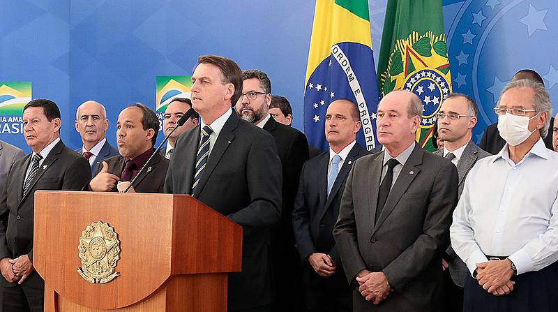 Bolsonaro pronunciamento