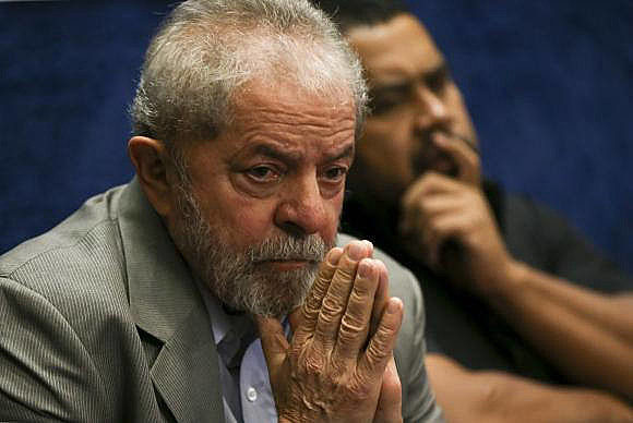 Lula appears in the opinion polls as the best rated presidential candidate among Brazilian voters