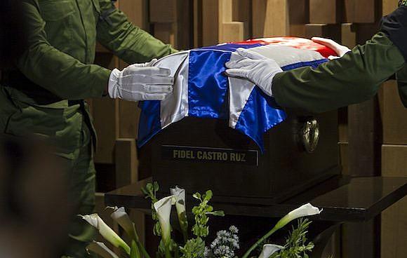 Cortejo dos restos mortais de Fidel Castro Ruz (1926-2016), que percorreu cidades cubanas