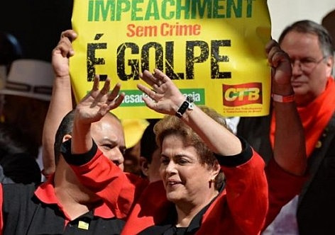 Processo de impeachment foi aprovado por 61 votos a 20 no Senado Federal.