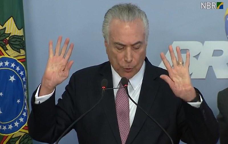 """""""Homem de gestos medidos e palavras melífluas, o golpista do Planalto a princípio parecia outro, afetando destempero raivoso"""""""