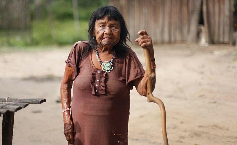 Indígena do povo Ka'apor