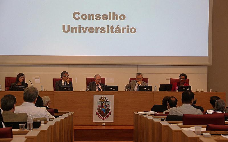 Reunião do Conselho Universitário da USP