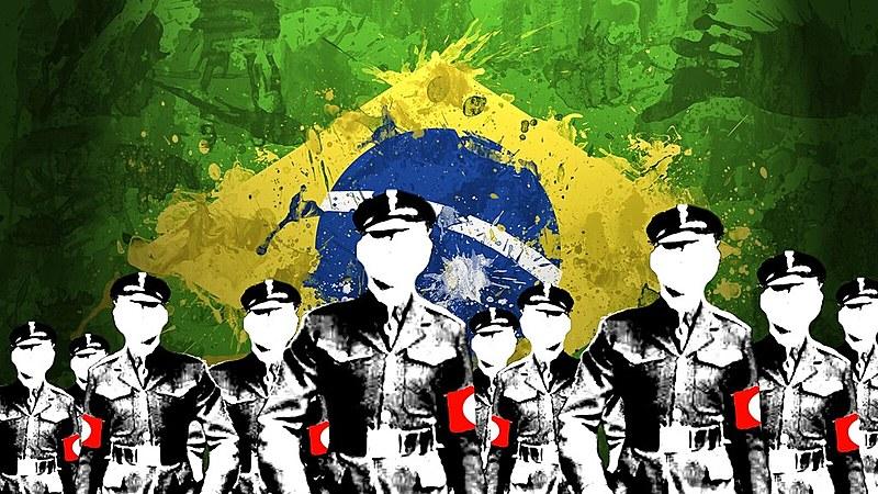 """""""Você sabe qual era o lema de Hitler na Alemanha nazista? 'Alemanha acima de tudo'. Igual a este aqui: 'Brasil acima de tudo'"""""""