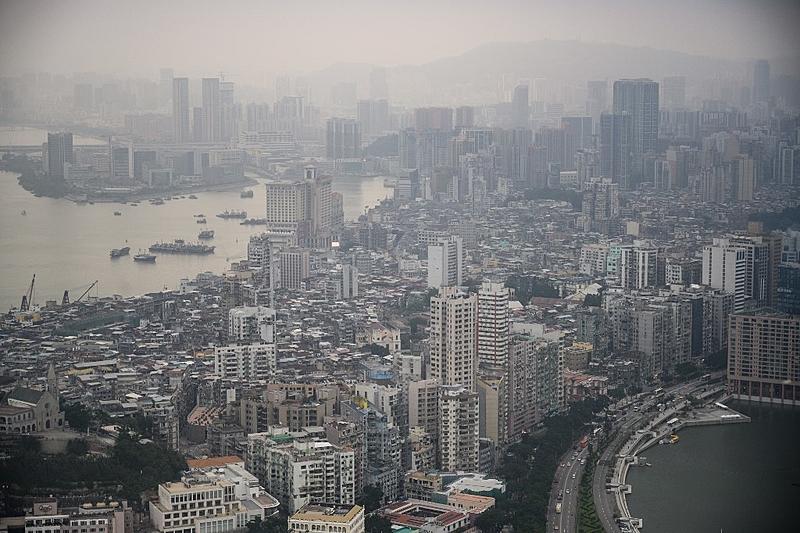 macau china poluição