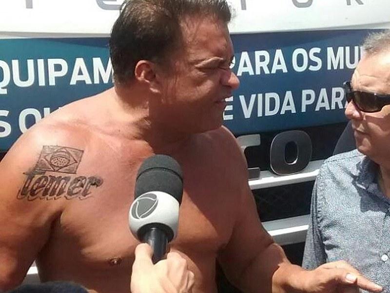 Wladimir Costa é aliado incondicional do presidente golpista Michel Temer