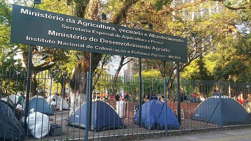 Mobilização faz parte da Jornada Nacional de Luta pela Reforma Agrária, e pretende denunciar o desmonte das políticas da Reforma Agrária