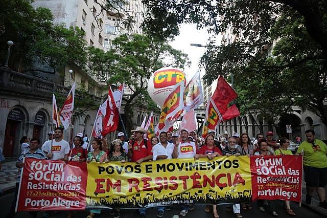 A partir da próxima semana, de 21 a 25 de janeiro, ocorrerá em Porto Alegre o Fórum Social das Resistências