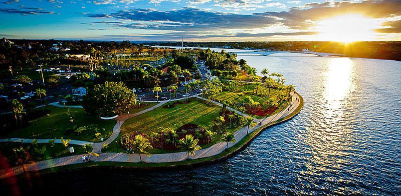 """Vista aérea do Lago Sul, o """"doce lar"""" do homem da mala"""