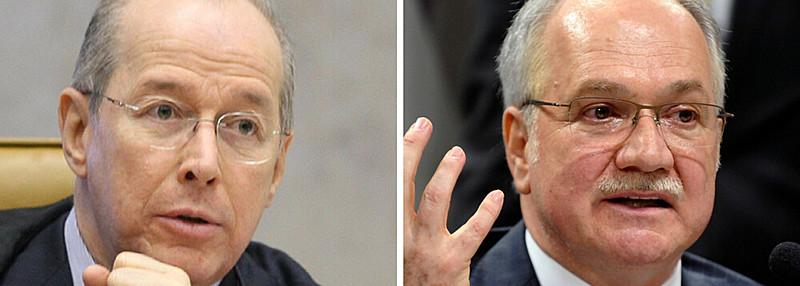 Ministros do Supremo Tribunal Federal (STF), Celso de Mello e Luiz Fachin