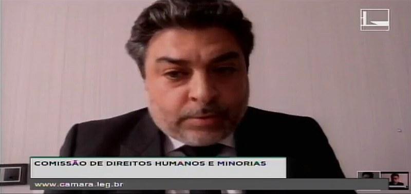Duran, em vídeo-conferência, afirma que Lava Jato utilizou documentos adulterados