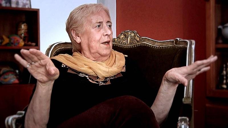 Jornalista e escritora argentina Stella Calloni