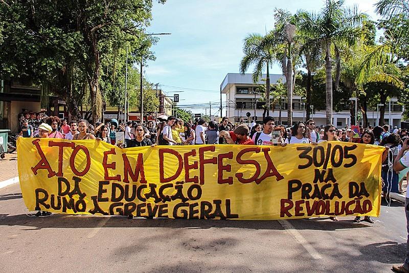 Mobilização em Rio Branco, capital do Acre