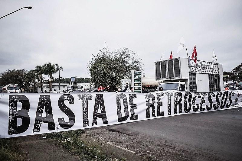 Mobilização conta com a participação da CUT, CTB, Força Sindical, UGT, Nova Central, CSB, Intersindical e Conlutas