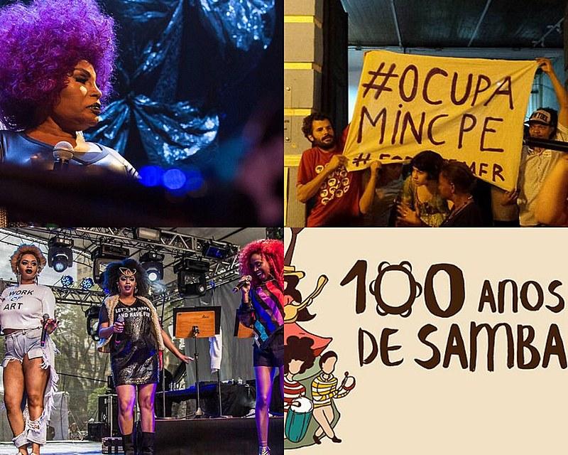 Da música aos protestos contra o fechamento do MinC, a cultura voltou a ser protagonista dos momentos políticos