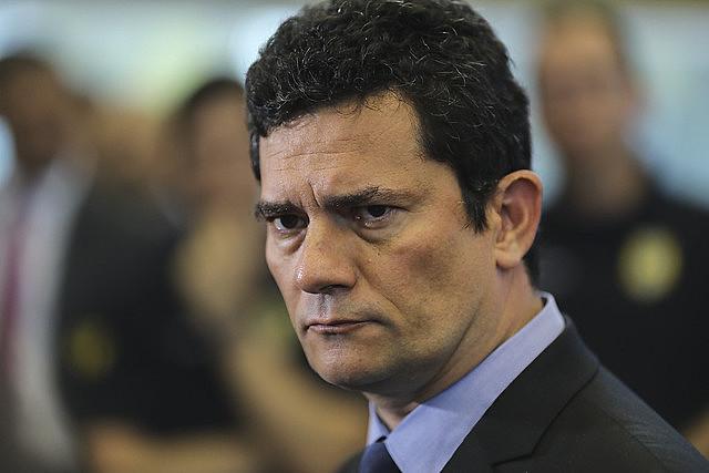 O ex-juiz e atual ministro da Justiça, Sérgio Moro