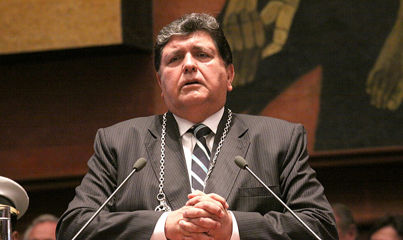 Ex-presidente Alan García fez o pedido a Montevidéu alegando perseguição política
