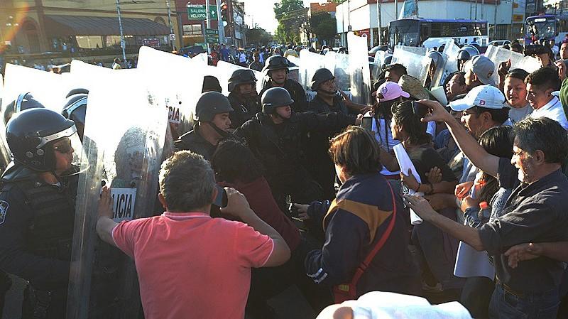 Movimentos sociais criticaram ação policial durante manifestações
