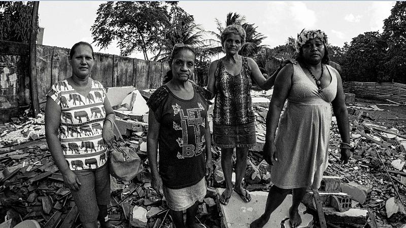 Moradoras do Porto do Capim convivem diariamente com a pressão de serem removidas para longe do seu território