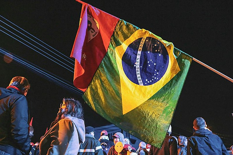 Ato interreligioso na vigília Lula livre