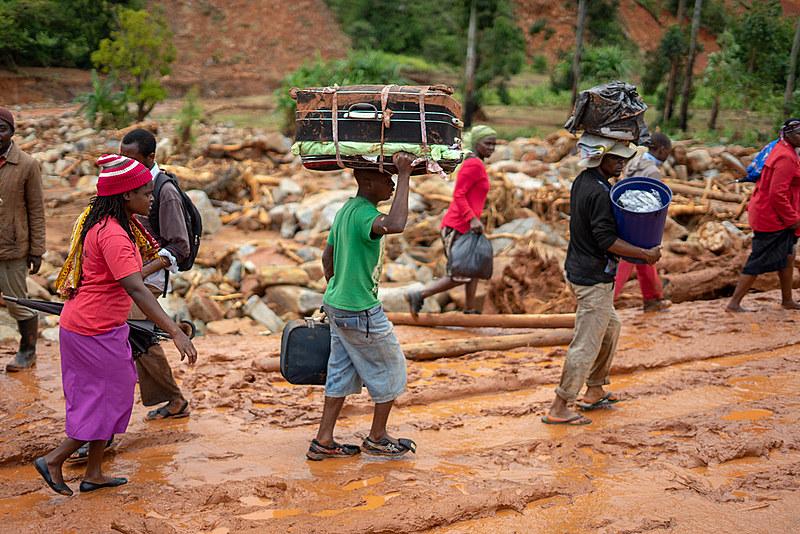 Além de Moçambique, ciclone também passou por Malaui e Zimbábue
